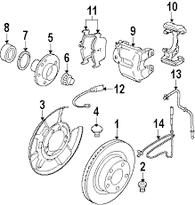 bmw genuine oem rotor bmw 34216855007 genuine oem rotor