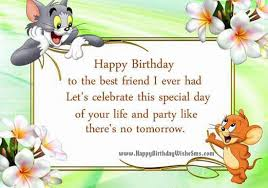 Birthday wishes for best friend - Happy Birthday Friend Quotes ... via Relatably.com