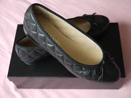 Chanel Flats - Black Caviar Leather - YouTube &  Adamdwight.com