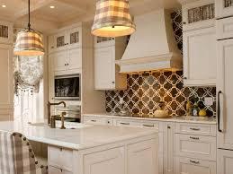 Kitchen Backsplash With White Cabinets L Shape Brown Kitchen Cabinet Decor  Idea Black Kitchen Countertop Decor Idea Country White Kitchen Ideas Kitchen  ...
