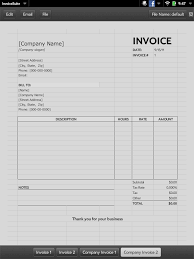 self employment invoice invoice template ideas self employment invoice quick app invoice webos nation 768 x 1024