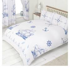 anchors nautical king size bedding