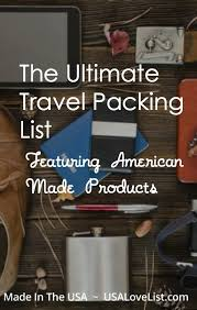 Ultimate Travel Packing List For Backpacking, Domestic, And ...