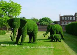 animal garden. Beautiful Animal Outdoor Decoration Artificial Topiary Animal For Park Wire  Elephant  Buy AnimalOutdoor Garden Decorations  And A