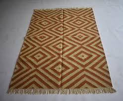 hand woven turkish vintage wool cotton kilim area rug rug carpet rugs