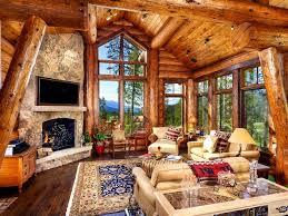 images furnish log home
