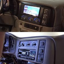 2003 Chevy Astro Van- Factory radio replacement. Relocating heater ...