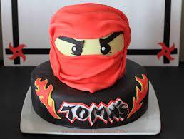 I Love Doing All Things Crafty: Ninjago Birthday Cake