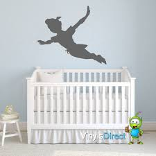 elegant peter pan shadow wall decal about my blog