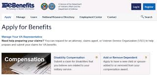 Veterans Administration Benefits Chart Fdc Walkthrough Fully Developed Claims