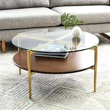 circular coffee tables glass circle coffee table cost vintage round by avbrands round wooden coffee tables