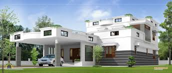 Box Type Modern House Plan Homes Design Plans Contemporary Unique - Home interior design kerala style