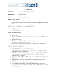 Example Of Job Description For Resume Ideas Of Legal Secretary Job Description Resume Stunning Resume 64