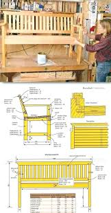 patterns furniture. Outdoor Furniture Patterns Plan Wood Bench Plans And Projects Patio . U