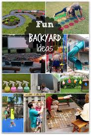 Fun backyard DIY ideas - I want to try every one of these!