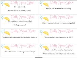Baby Shower Games Free Printable Who Knows Mommy Best - 4k Wallpapers