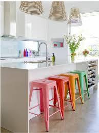 interior design ideas kitchen small colored bar stools kitchen island