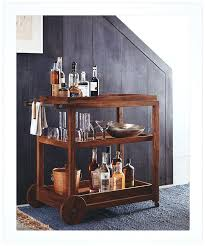 diy wood bar. Wooden Bar Cart Classic Dark Wood And Steel Finish Beverage Diy .