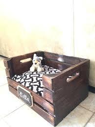 dog crate bedding set wooden dog bed wine crate dog bed for small dogs free dog crate bedding set