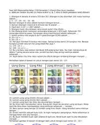 Kunci jawaban soal ulangan tengah semester 1 matematika kelas 3 sd. Top Pdf Soal Uas Matematika Kelas 3 Sd Semester 1 123dok Com