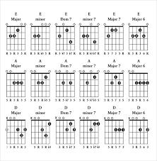 Guitar Chord Chart Pdf Free Download Bismi Margarethaydon Com