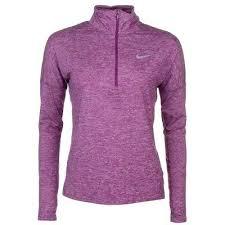 Nike Element Half Zip Size Chart Nike S Womens Dry Element Half Zip Ls W Thumbholes Running