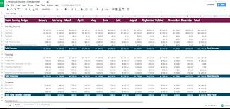 Sample Budget Forecast Example Spreadsheet Excel Plan Template It ...