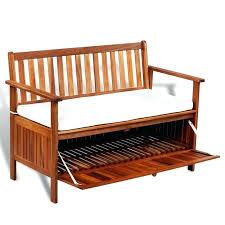 seemly outdoor bench with storage storage sheds shed garden storage chest outdoor storage bench storage