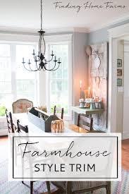 farmshouse style window trim