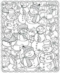 Winter Printable Coloring Pages Free Printable Coloring Pages For