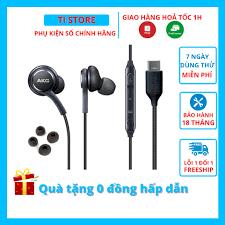 Tai nghe AKG Type C Note 10 S20 zin chính hãng + Tặng 4 nút tai phụ -  Samsung Note 20 S20 Plus Ultra - Tai nghe nhét tai & chụp tai