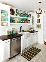 Small Picture Small Kitchen Decorating Ideas Upper cabinets Kitchens and Herbs