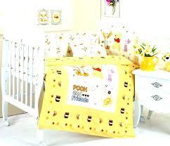 pooh nursery the bedding yellow plus theme crib winnie ideas classic decor clas