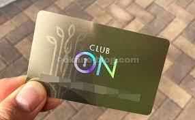 クラブ オン カード ポイント