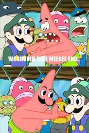 Memes Vault Patrick Star Memes – Push It Somewhere Else Original via Relatably.com