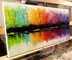 original abstract art paintings by osnat tzadok amazing paintings living rooms beautiful paintings osnat tzadok originals abstract abstract trees