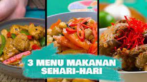 Kedepannya, kami akan selalu update informasi seputar resep menu masakan sehari hari. 3 Menu Makanan Sehari Hari Yang Mudah Untuk Dikuasai