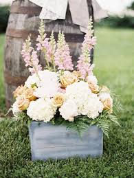 rustic garden wedding flowers decor ideas