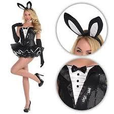 Image Is Loading Sexy Bunny Rabbit Costume Tuxedo Tutu Hen Bedroom