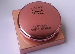 lakme 9 to 5 primer matte powder foundation review
