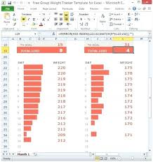 Weight Loss Percentage Spreadsheet Weight Loss Percentage Spreadsheet Template Free Group Weight