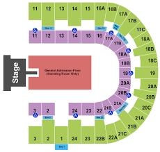 Logical Pechanga Concert Seating Chart 2019