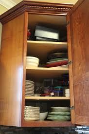 corner cabinet organization