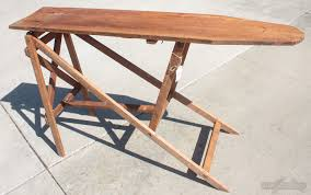 ironing board furniture. Turn An Antique Wooden Ironing Board Into A Console Table With Storage.  This Is Furniture