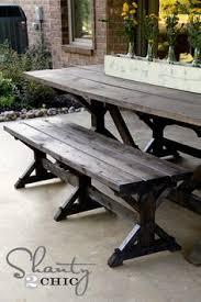 diy bench farmhouse style