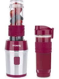 H.Koenig SMOO10 portable tumbler blender, Smoothie Maker, American Juice  blender, Smoothies, Smoothies, 570mL capacity|Blenders
