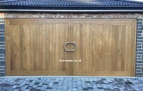 wood double garage door. Oak Double Garage Doors Wood Door