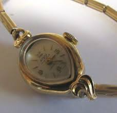 Women's watham vintage windup watch