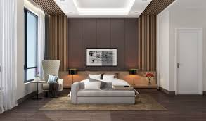 Sofa Chair For Bedroom Bedroom Bedroom Accent Wall Wooden Panelling Slats Sofa Chair