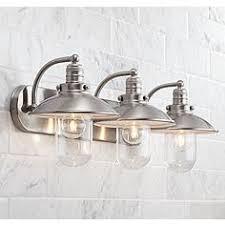 brushed nickel bathroom lights. Downtown Edison 28 1/2 Brushed Nickel Bathroom Lights N